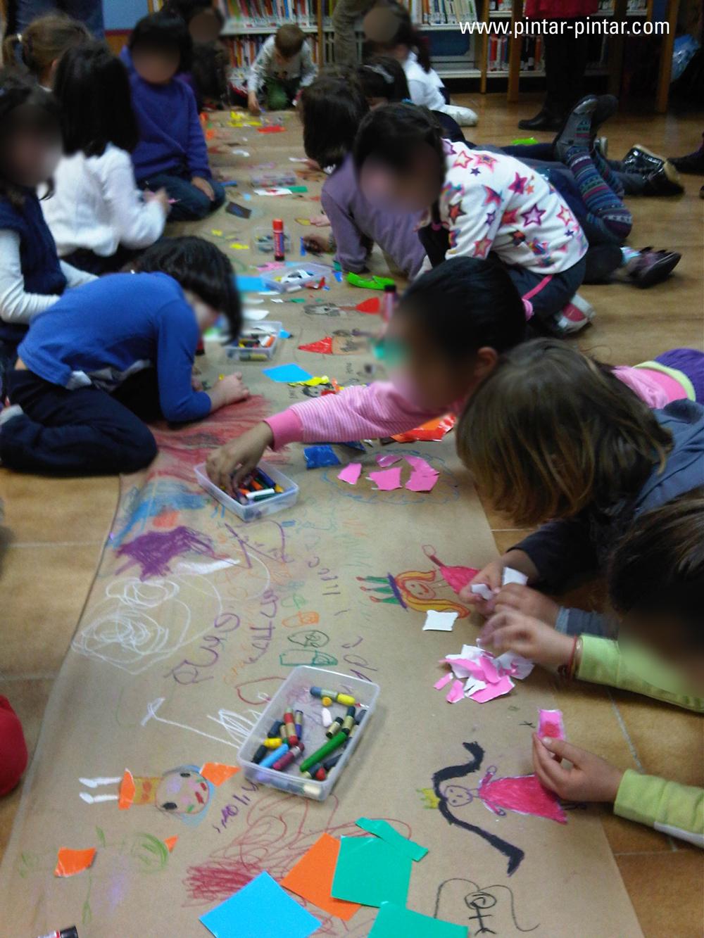 Sembrando amor a la lectura pintar pintar editorial blog - Pintar el piso ...