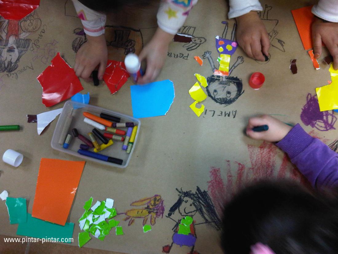 Sembrando amor a la lectura pintar pintar editorial blog - Se puede pintar el piso ...