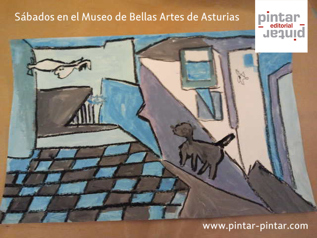 Picasso, en el Museo de Bellas Artes de Asturias  Pintar-Pintar Editorial