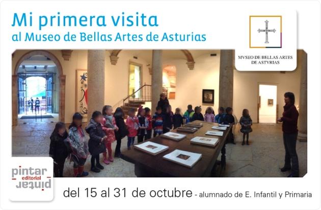 Educación en el Museo de Bellas Artes de Asturias: programa de otoño.  Pinta...